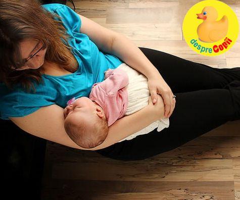 Prima zi cu bebelusul nou nascut acasa: cum este acea zi si de ce poate fi coplesitoare