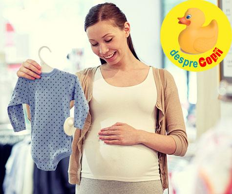 Primele hainute pentru bebe dupa ce am aflat ca e baietel - jurnal de sarcina