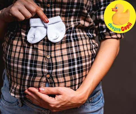 Primele hainute ale bebelusului - jurnal de sarcina