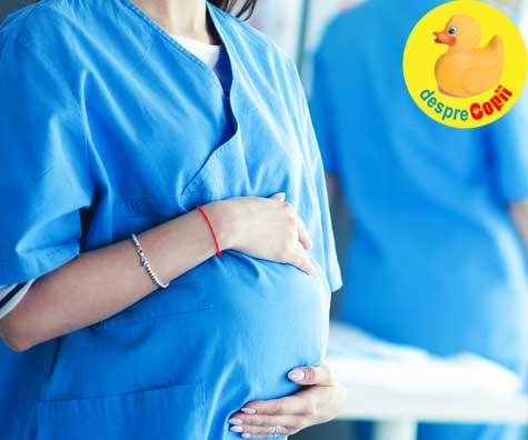 Primele miscari in burtica au fost in linia I de lupta impotriva acestui virus urat - jurnal de sarcina