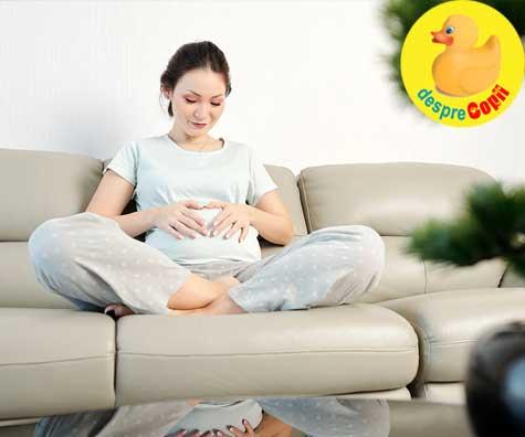 Primele miscari in burtica la 18 saptamani - jurnal de sarcina