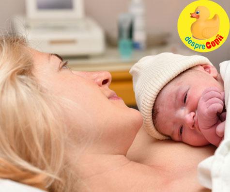 Primele ore dupa nasterea bebelusului sunt extrem de importante - asa ca draga mami, incepe corect
