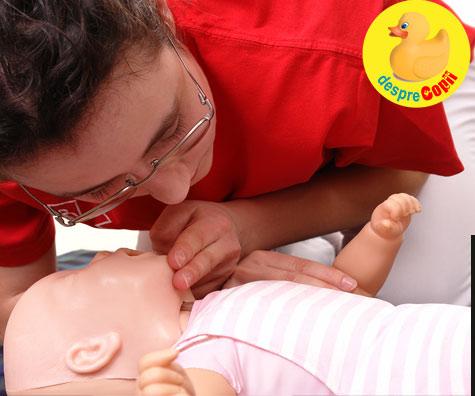 Primul ajutor bebelusului - cinci feluri in care poti salva viata bebelusului in caz de sufocare sau pierdere a cunostintei