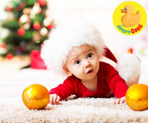 Primul Craciun al copilului – 8 idei de a-l sarbatori