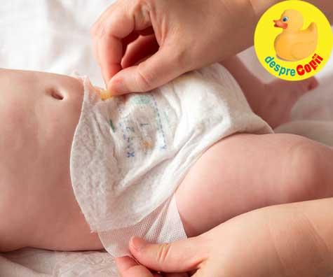 Primul scaun al bebelusului nou-nascut - iata ce e NORMAL si ce nu