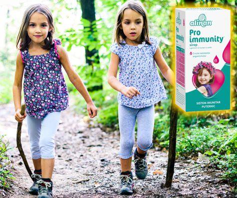 Imbunatateste sistemul imunitar al copilulului cu Alinan Proimmunity