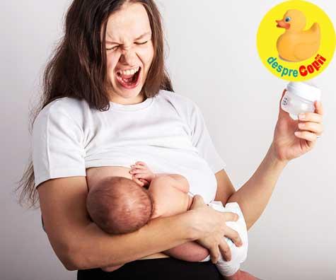 Cele mai dificile 14 lucruri in alaptarea bebelusului