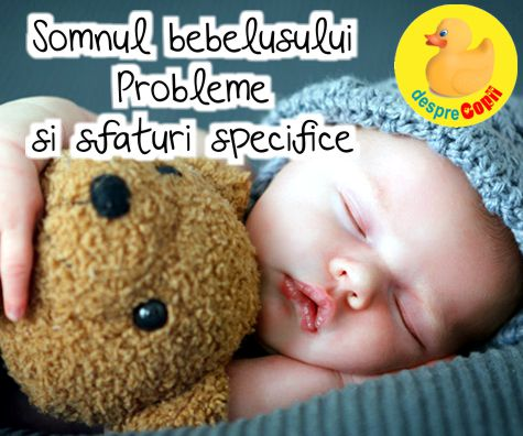 Somnul bebelusului: probleme si sfaturi specifice