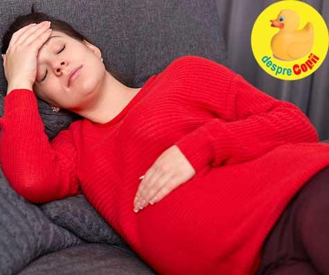 Organismul unei gravide e un fenomen inexplicabil: trimestrul III - jurnal de sarcina