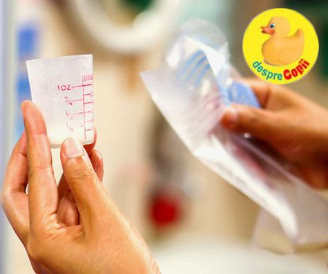 4 factori care pot duce la scaderea lactatiei. Iata cum poti sa readuci la normal cantitatea de lapte matern