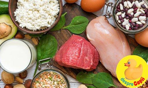 De cate proteine are nevoie un copil: dupa varsta