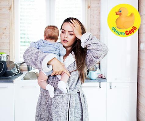 Cele mai mari provocari ale mamicilor in primul an de viata al copilului