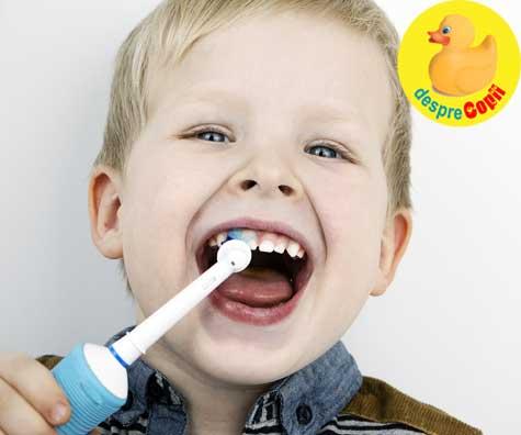 Despre puterea exemplului - puterea unui zambet! Cum ajutam copilul sa iubeasca spalatul pe dinti