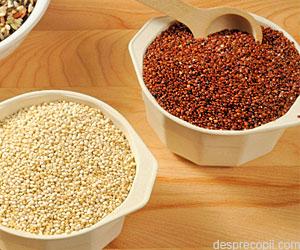 Alegeti quinoa pentru o alimentatie sanatoasa