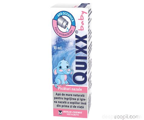 QUIXX Baby – respira cu tot nasul
