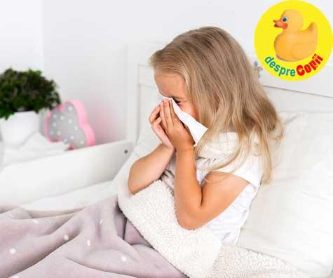 Copil racit si fara febra. Este posibil? Se poate si gripa fara febra?
