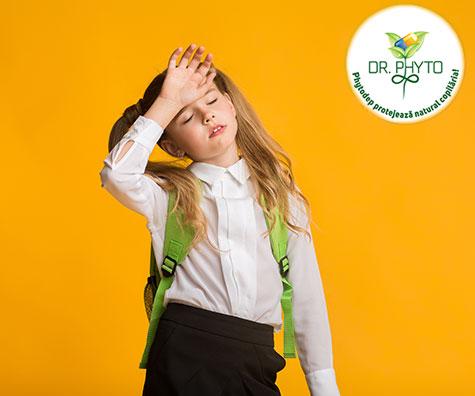 Cand este copilul prea bolnav pentru a fi dus la scoala sau gradinita?