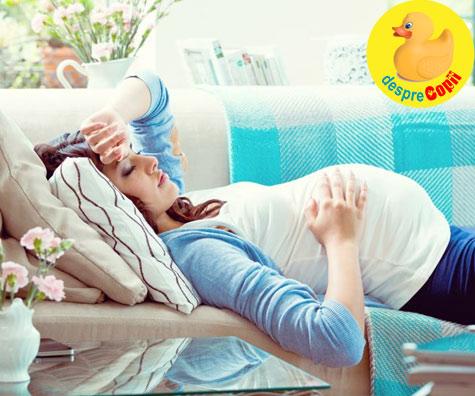 Raceala in sarcina: 12 sfaturi pentru a te trata in siguranta