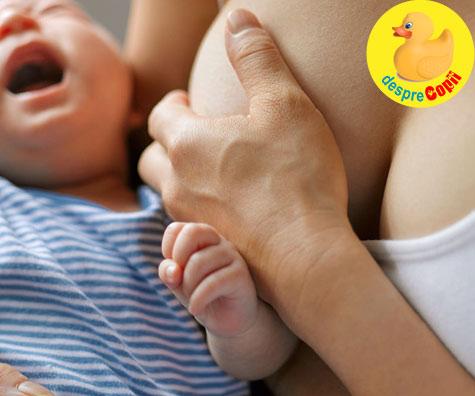 Ragadele in alaptare (ranile de pe mameloane). Iata ce sunt, de ce se produc si cum se pot trata