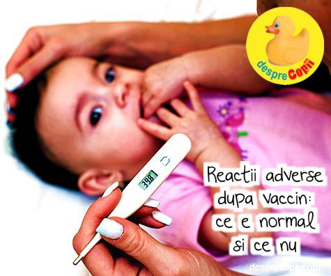 Reactii adverse dupa vaccin: ce e normal si ce nu