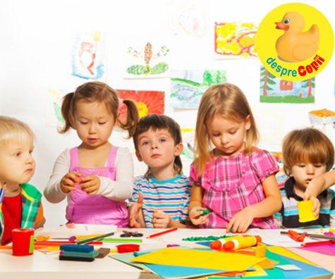 Rechizitele pentru gradinita: lista de obiecte necesare copilului care incepe gradinita