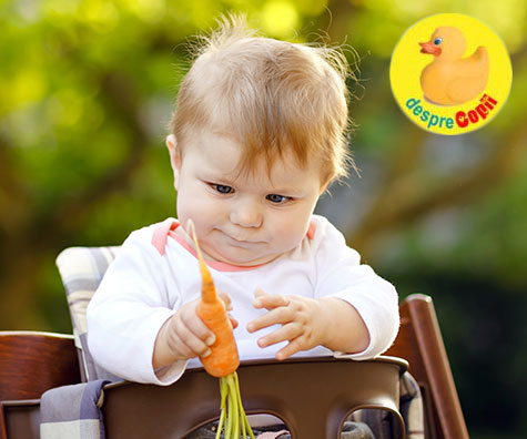 Reflexul de gag la bebelusi: ce este si care este diferenta dintre gag si sufocare