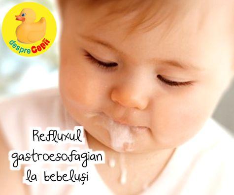 Refluxul gastroesofagian la bebelus