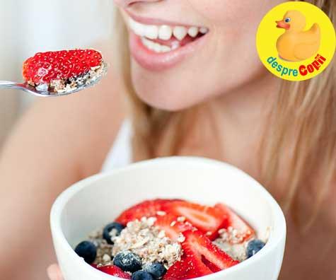 Regimul alimentar inainte de sarcina - sfaturi de la medicul nutritionist ✔