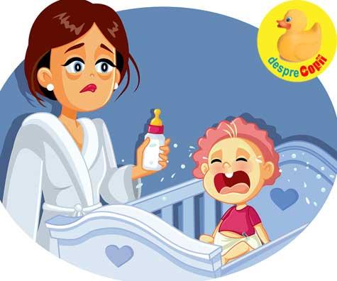 Regresia de somn la bebelusi: ce este, cand are loc si care este cauza - SCHEMA REGRESIILOR DE SOMN
