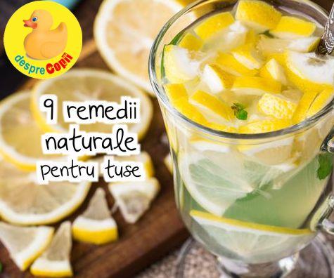 9 remedii naturale pentru tuse