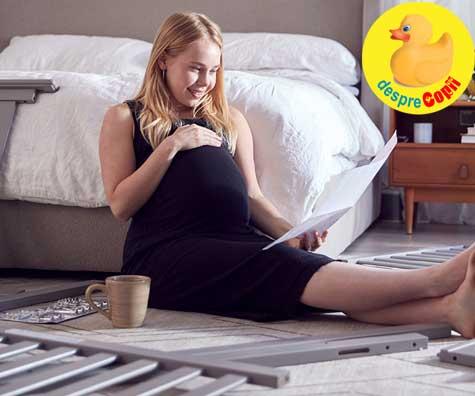 Am reorganizat intreaga casa cu drag pentru venirea lui bebe - jurnal de sarcina