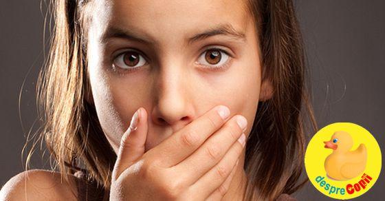 Respiratia urit mirositoare la copii (halitosis)