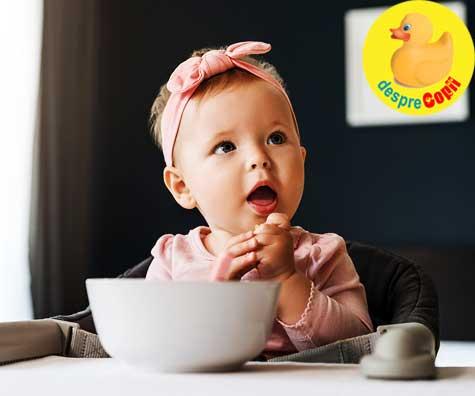 3 retete de supe pentru bebelusii de 10 luni - a cincea luna de diversificare