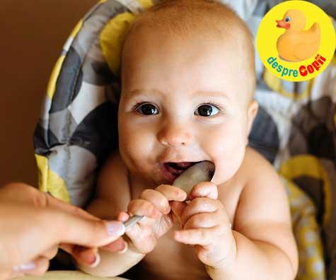 3 retete de supe pentru bebelusii de 7 luni