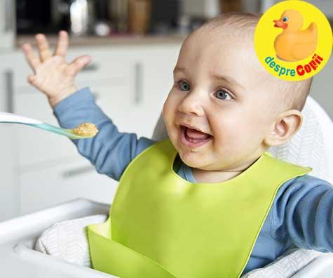 3 retete de supe pentru bebelusii de 8 luni - a treia luna de diversificare
