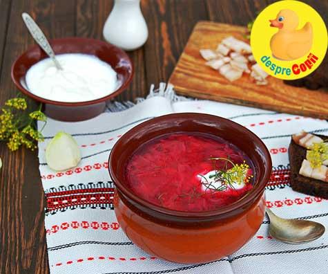 12 retete cu sfecla rosie