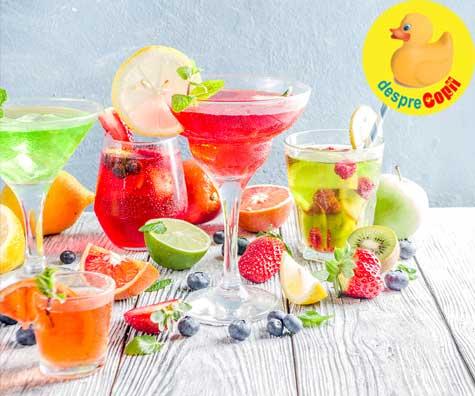 15 retete simple de cocktail-uri speciale