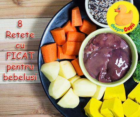 8 Retete cu ficat pentru bebelusi