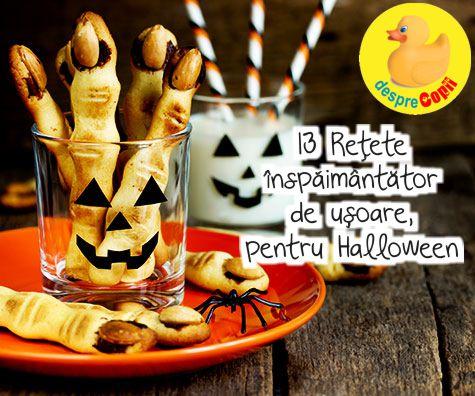13 Retete inspaimantator de usoare, pentru Halloween
