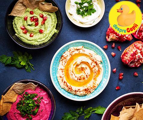 13 Retete rapide de Hummus