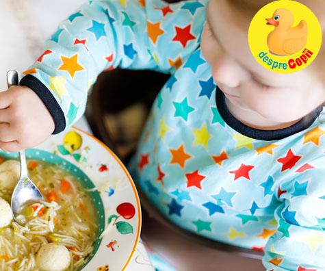 6 retete de supe pentru bebelusi si copilasi - VIDEO