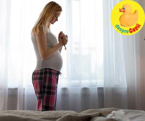 Sperietura mare in saptamana 6 - jurnal de sarcina
