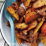 Salata de sfecla si cartofi