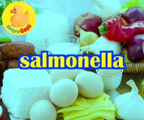 Salmonela si salmoneloza: intrebari si raspunsuri despre alimentele care ne pot imbolnavi