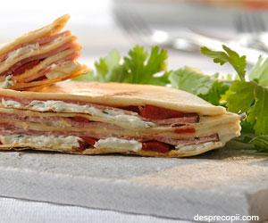 Quesadilla sandwich