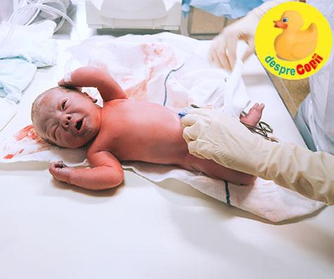 Pastrarea sangelui ombilical al bebelusului in scopuri medicale: ce trebuie sa stii