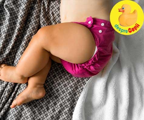 Sange in scaunul bebelusului - care pot fi cauzele - sfatul medicului pediatru