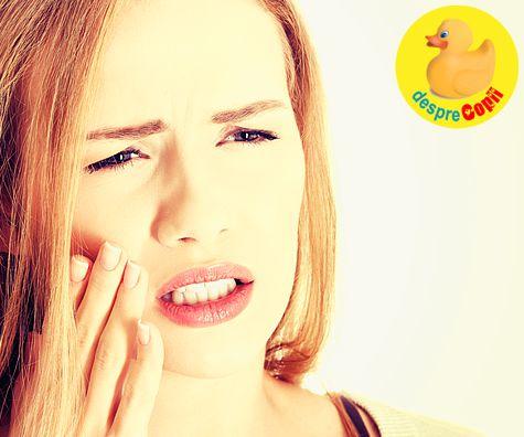 Sangerarea gingiilor in timpul sarcinii: motive si tratament