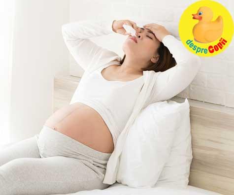 Sangerarile nazale in timpul sarcinii: ce le cauzeaza si sfaturi pentru a le gestiona