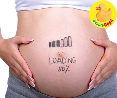 Saptamana 20 de sarcina: am ajuns la jumatatea sarcinii - jurnal de sarcina